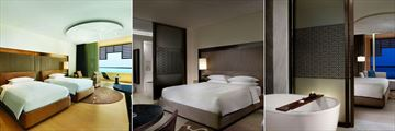 Park Hyatt Abu Dhabi Two Twin Beds, One King Bed Room, Bathroom
