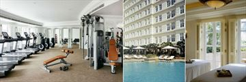 Park Hyatt Saigon, Fitness Centre, Hotel Pool and Spa Treatment Room