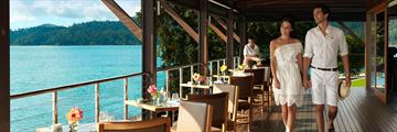 Pebble Beach restaurant, Whitsundays