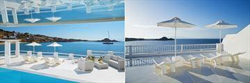Prince Pool and Rooftop Terrace at Petasos Beach Resort
