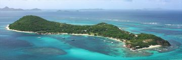 Petit St Vincent, Aerial View of Island