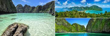Phi Phi; Maya Bay, Koh Phi Phi Panorama; Maya Bay