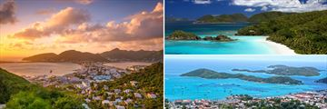 St Maarten, British Virgin Islands & St Thomas
