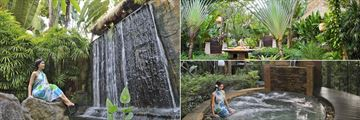 Pimalai Resort & Spa, Koh Lanta, Spa Waterfall, Massage in the Spa Grounds and Spa Jacuzzi