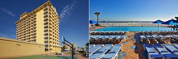 Plaza Resort & Spa, Basketball Court and Pool & Sunloungers