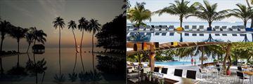 The pool at Meeru Island Resort & Spa