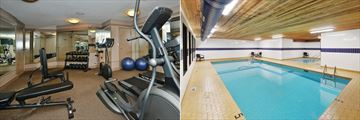 Prestige Beach House Kelowna, Fitness Room and Pool