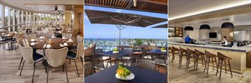 Sails Restaurant, Club Lounge and Sails Restaurant Bar at Prince Waikiki