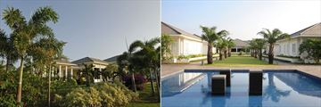 Princess D'Annam Resort & Spa, Resort Villas, Gardens and Pool