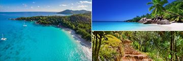 Praslin Island landscapes