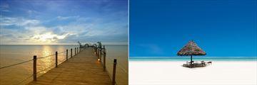 Pristine Zanzibar Beach & Jetty