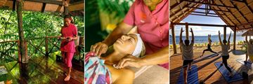 Spa, Spa Treatments and Yoga at Qamea Resort & Spa Fiji