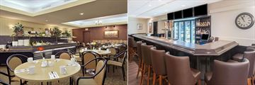 Ramada Plaza by Wyndham Calgary Downtown, Cheers Restaurant and The Fox on 6th Lounge
