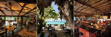 Rayavadee Private Villas, Raya Restaurant, The Grotto and Raitalay Terrace