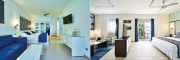 Riu Bambu, Family Room and Junior Suite