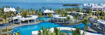 Riu Montego Bay, Aerial View of Resort and Pool