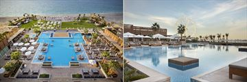 The pool and pirvate beach at Rixos Premium Dubai JBR
