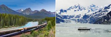 Rocky Mountaineer & Glacier Bay