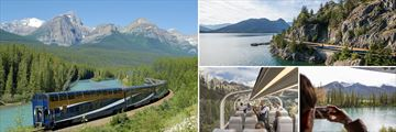 Scenery of The Rocky Mountaineer