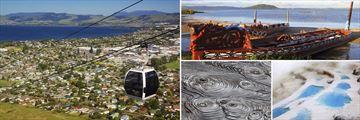 Rotorua's Skyline Gondola, Maori Boats & Spectacular Geothermal Scenery