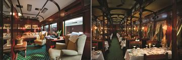 Rovos Rail accommodation & dining