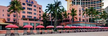 Royal Hawaiian Hotel, Exterior and Beachfront