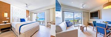 Luxury Junior Suite and Luxury Presidential Suite Ocean Front at Royalton Grenada