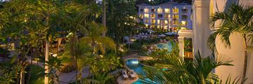 Sandals Barbados, Resort at Night