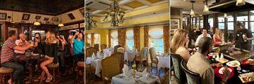 Dining at Sandals Regency La Toc Golf Resort & Spa
