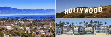 Santa Monica, Santa Barbara & Hollywood