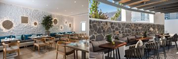 Lydia Restaurant at Santorini Kastelli Resort