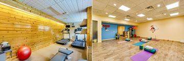 Sawridge Inn and Conference Centre Jasper, Fitness Room and Blue Sky Yoga Studio