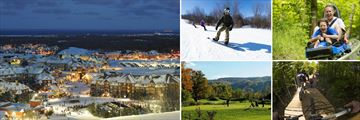 Scenery and Activities at the Blue Mountain Resort