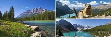 Banff National Park's Spectacular Scenery