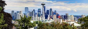 Seattle and Space Needle skyline