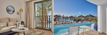 Suite Ocean View Preferred Club & Suite Ocean View Swim-Up Preferred Club at Secrets Lanzarote Resort & Spa