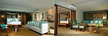 Preferred Club Junior Suite and Preferred Club Honeymoon Suite at Secrets Papagayo