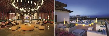 Secrets Playa Mujeres Golf & Spa Resort, Lobby and Desires Lounge Terrace