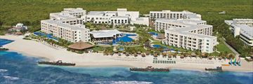 Secrets Silversands Riviera Cancun, Aerial View of Resort