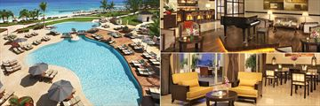 Preferred Club Pool, Piano Bar and Lobby at Secrets St James Montego Bay