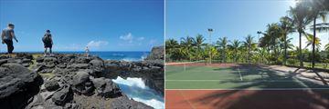 Shandrani Beachcomber Resort & Spa, Nature Walk and Tennis