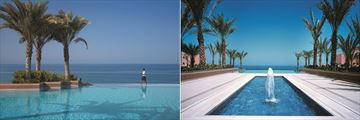 Shangri-La Al Husn Resort & Spa, Infinity Pool and Gardens