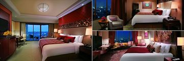 Shangri-La, Bangkok, Deluxe Balcony, Executive Suite and Horizon Club Room