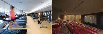 Shangri-La Hotel Toronto, Health Club and Screening Room