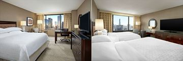 Sheraton Centre Toronto Hotel, Standard Room King Bed and Standard Room Two Queen Beds