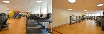 Fitness Centre at Sheraton New Orleans Hotel
