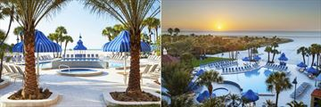 Sheraton Sand Key Resort, Poolside Cafe and Pool