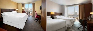 Traditional King and Traditional Doubles Rooms at Sheraton Tribeca New York Hotel