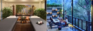 Shinta Mani Shack Resort, Spa Treatment Room and Spa Veranda