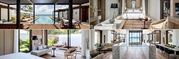 The interiors of the Beachfront Villas at Silversands Grenada